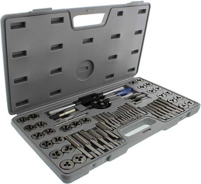ABN Metric and SAE Standard Tap and Die Set