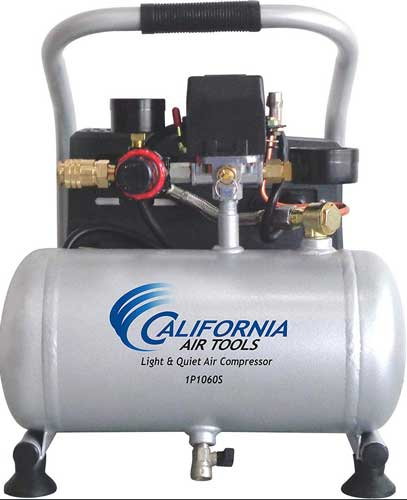 California Air Tools Light & Quiet Portable Air Compressor