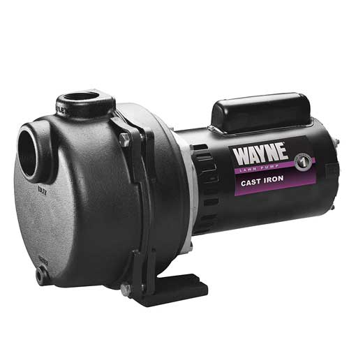 WAYNE WLS200 2 HP Cast Iron High Volume sprinkler water pump