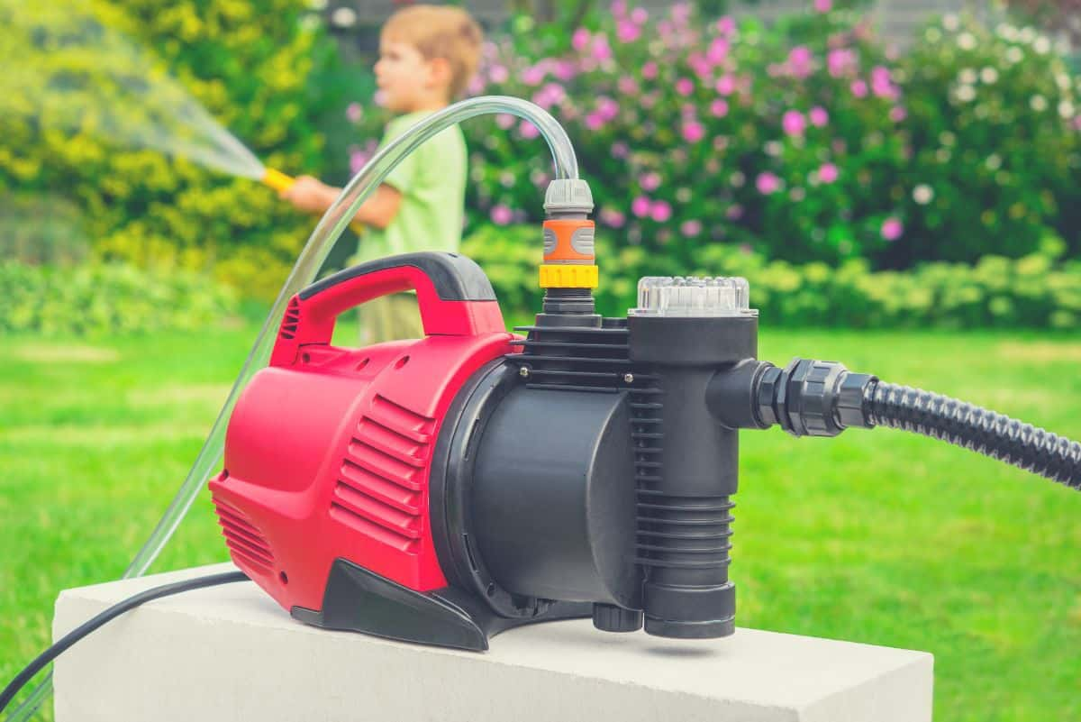 Best sprinkler pump