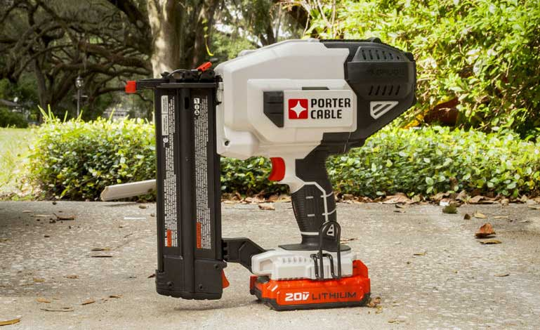 PORTER CABLE electric cordless brad nailer