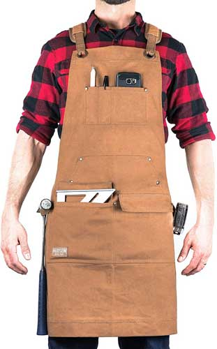 Hudson Durable Goods Woodworking Waxed Canvas Apron