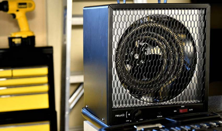 Portable garage heater